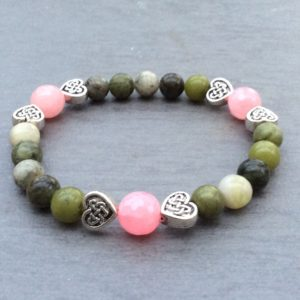 Irish heart bracelet