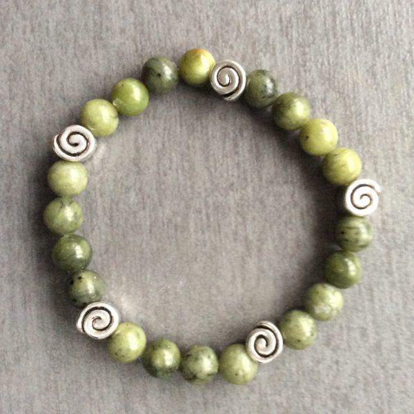 Celtic spiral irish bracelet