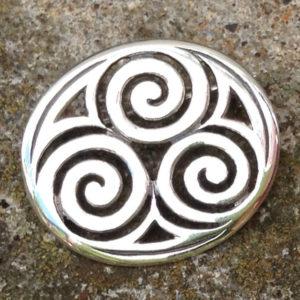 Celtic Silver brooch