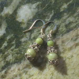 Connemara marble earrings
