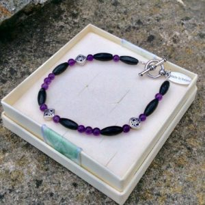 Kilkenny marble Amethyst bracelet