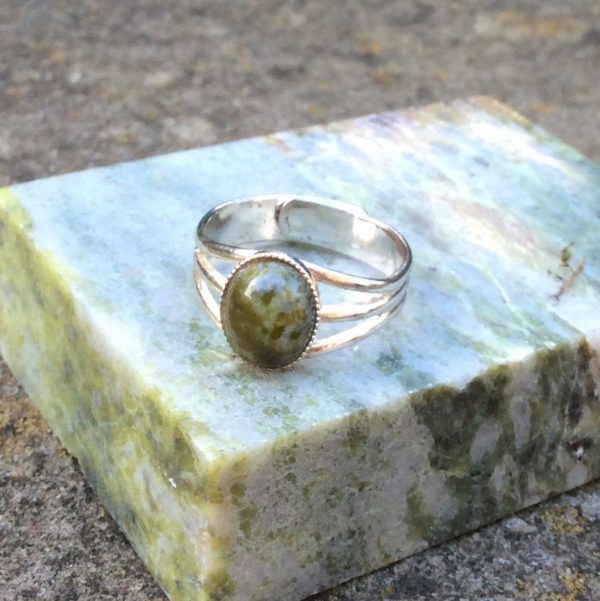 Connemara marble ring