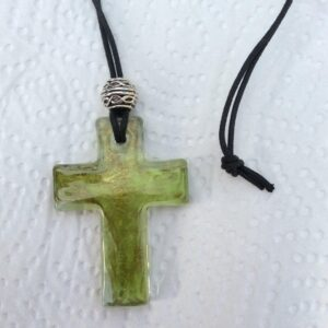 Murano Glass Cross